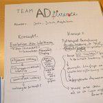 Ideen und Konzept zum Thema Werbung und Digitalisierung